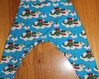 Dragon Harem Pants Size 1