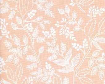 Rifle Baby Bedding, Fitted Crib Sheet, les fleurs georgia peach, baby girl bedding, blush baby, nursery bedding, crib sheets, blush floral