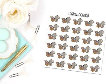 Toy Box Koala Planner Stickers