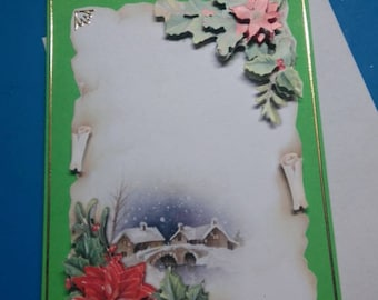 3D 818 hand made greeting card