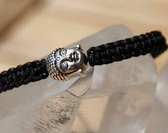 shamballa bracelet with Pearl silver shaped Buddha