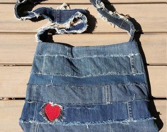 Denim Shoulder Bag 023