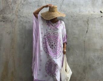 Morocco kaftan,Dress ,bohemian,hipppie ,festival ,oversized, long dress beach resort Wear,caftan boho, white