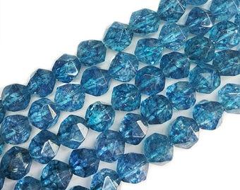 """6-12mm Grad AAA kyanite Beads, Facted kyanite beads , Gemstone beads , Rhinestone Beads , Semiprecious stone beads 15"""" Full Strand VIG8104"""
