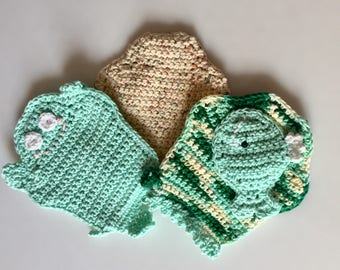 Bath Mitts - Benefits Guide Dogs for the Blind