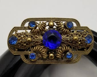 CZECHO Blue Stone Pin