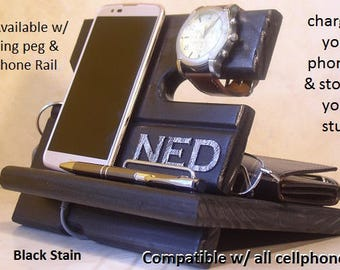 iPhone Dock, Dad Gift, Mom Gift, Tech Gift, iPhone Dock, For Her, For Him, Graduation, Birthday, Cell Phone Stand
