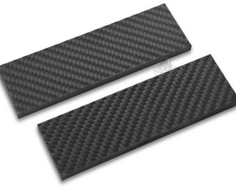Carbon Fiber High Quality Handle Gray Black Scales Knives Matte Guns Knife 5in Making Grips Set Pair Grips [G-SCALES-CARBONFIBER]