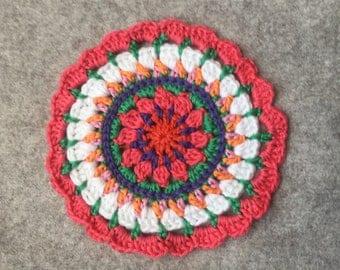 Spring Crochet Mandala