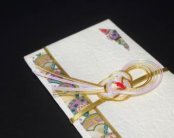 """51.Mizuhiki envelopes This envelope is used for each celebration. A special envelope called """"noshibukuro"""""""