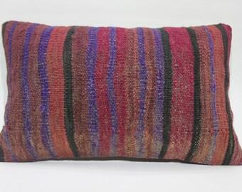 30cm x 50cm modern pillow boho chair woven pillow blue decorative pillow india pillow striped kilim cushion cover pillow cover 12x20  614