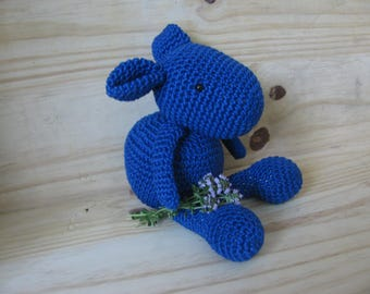 little mouse diabolote diabolo crochet entirely handmade in 100% cotton