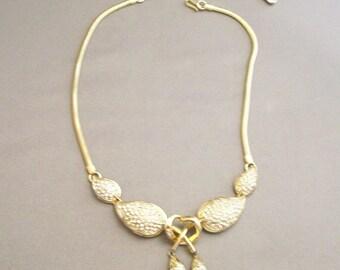 CoroCraft  Stunning  RHINESTONE  Choker  Necklace