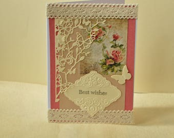 Greeting card, butterfly card