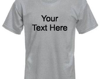 Custom Men's T-Shirts