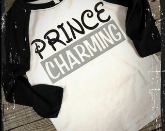 Prince Charming raglan