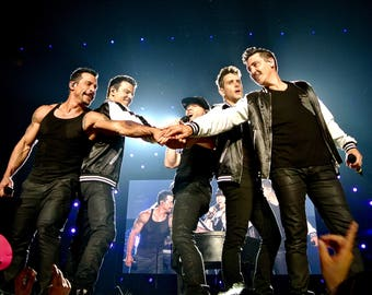 New Kids on the Block Total Package concert