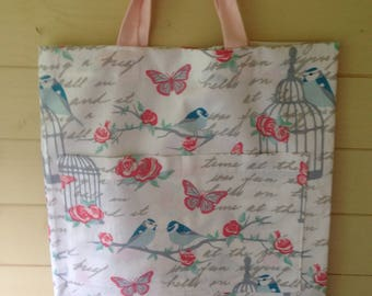 Butterfly and Bird Market Bag