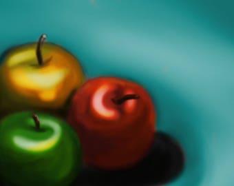 Apples Trio Print