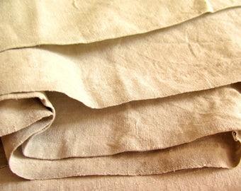 Linen Sheet - unused - Farmhouse Bed Linen - handwoven linen