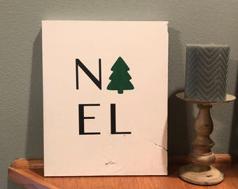 Noel Sign | Christmas Sign | Wood Sign | Rustic Gifts for Her | Holiday Sign