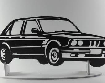 BMW E30 metal sign decorative plaque
