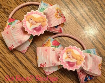 Sleeping Beauty Ponytail Holders