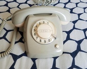 Dutch T65 Telephone: Gray