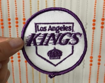Los Angeles KINGS Patches - Purple, Yellow