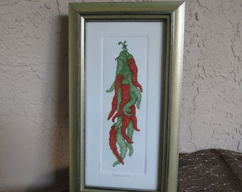 "Peppers - ""Peppersauce"" - One of Three Signed & Numbered Prints - Mathew Hinsen"