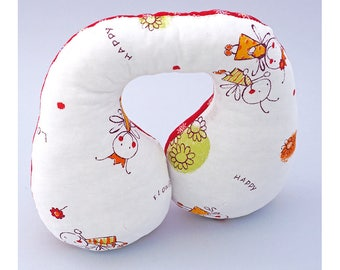 Travel neck pillow, car seat head support, head support pillow for baby, neck pillow, toddlers travel pillow, kids gift, babies gift