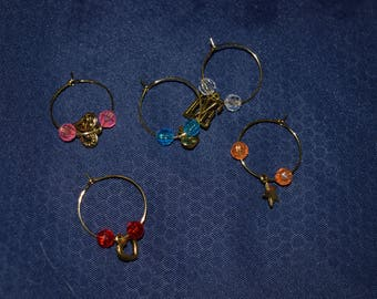 Wine Charms - packs of 5