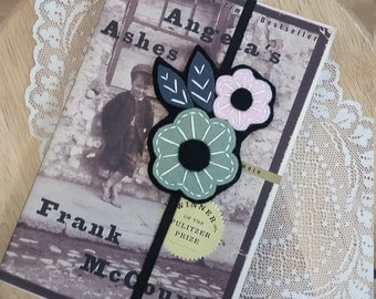 BookmarUnique Bookmarks,Embroidered felt, Flower bookmark, Unique bookmark, Student and Teacher gifts, Bookmarks, Stocking Stuffers