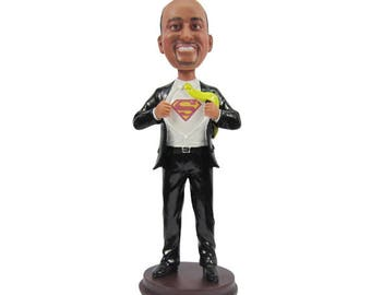 Groomsman Gift // Groomsmen Gift // Wedding Party Gift // Groomsman Bobblehead