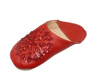 Oriental shoes Babouchen from Morocco-Women