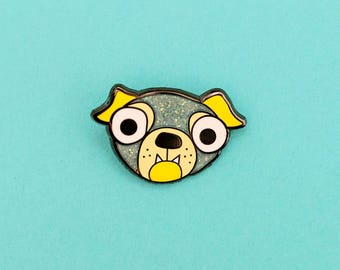Puppy - Hard enamel lapel pin