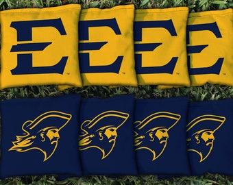 East Tennessee State ETSU Buccaneers Cornhole Bag Set