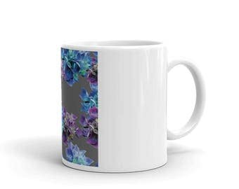 Unique Floral Print Mug