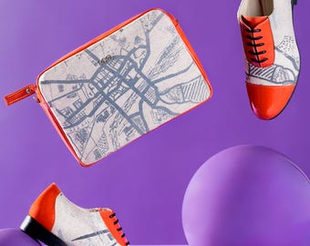 EUROPEAN CITY MAP Oxford shoes