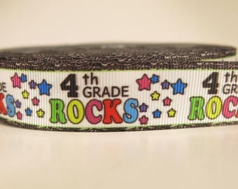 4th Grade Rocks Lanyard
