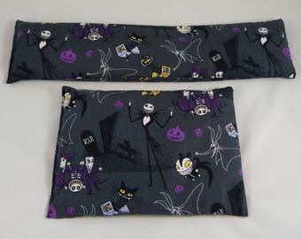 Nightmare Before Christmas hot/cold magic bag filled with flaxseed