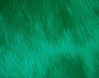 Emerald Luxury Faux Fur Shag
