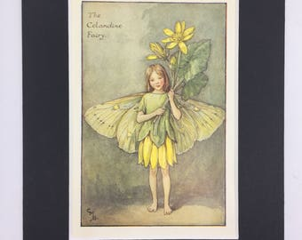 Print Flower Fairies: The Celandine Fairy