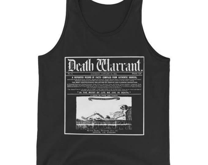 Death Warrant Tank- Black