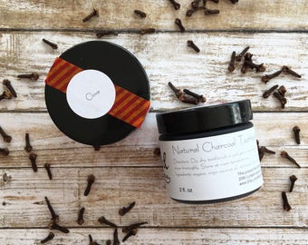 Natural Toothpaste +Plus | CLOVE | Charcoal Toothpaste + Baking Soda