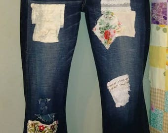 Ragga muffin destroyed jeans