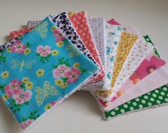 wipes X 10 - eco-friendly - women/girls - set no. 11