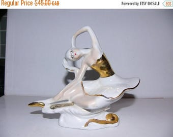ON SALE Vintage Capodimonte Ballerina