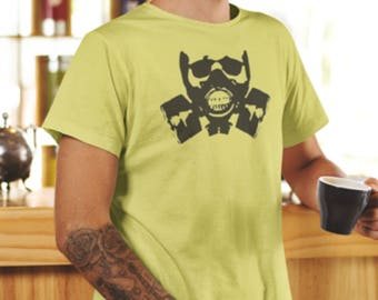 Gas mask Print T-Shirt, Gas Mask Print, Gas Mask T-Shirt, Mask Print T-Shirt, Anarchy Mask Print, Mask Print.