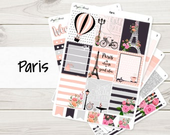 Paris Weekly Kit | Planner Stickers